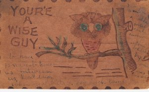 LEATHER ; Owl , You're a wise guy , 1906