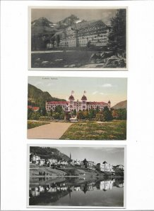 Switzerland Sankt Moritz Postcard Lot of 9 01.11