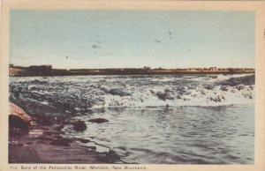 The Bore Of The Petitcodiac River, Moncton, New Brunswick, Canada, PU-1948