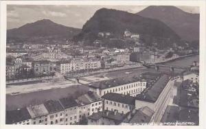 Austria Salzburg Vom Moenchsberg Real Photo