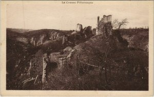 CPA CROZANT Vue d'Ensemble des Ruines de Crozant (1143799)