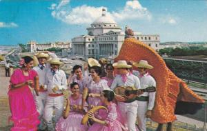 Jibaro dance of the mountains, San Juan, Puerto Rico, 40-60s