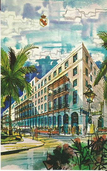 The Royal Orleans, New Orleans - Artist's Rendition