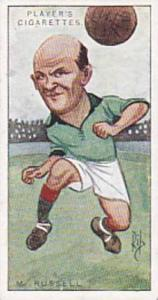 Players Vintage Cigarette Card Footballers Caricatures RIP 1926 No 21 Moses R...
