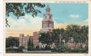 Colorado Denver East Side High School 1941
