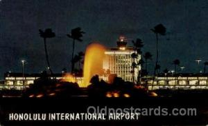 Honolulu International Airport, HI USA Airport, Airports Post Card, Post Card...