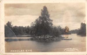 Thousand Islands Canada Needles Eye Real Photo Antique Postcard J48490