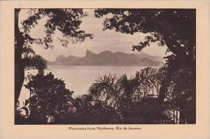 Brazil Rio de Janeiro Panorama rom Nictheroy