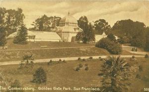 The Conservatory, Golden Gate Park, San Francisco, Califo...