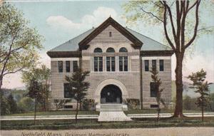 Massachusetts Northfield Dickinson Memorial Library