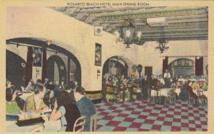 BAJA CALIFORNIA, Mexico, 1930-40s ; Rosarito Beach Hotel