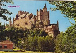 El Alcazar Segovia Spain