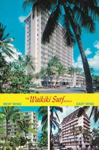 Hawaii The Waikiki Hotels West Wing & East Wing