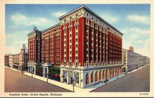 Michigan Grand Rapids The Pantlind Hotel 1940 Curteich