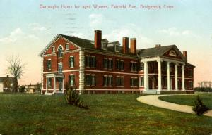 CT - Bridgeport. Burroughs Home for Aged Women