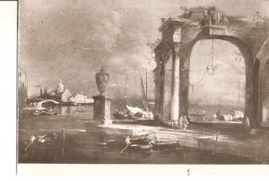 Postal 021274 : Paisaje veneciano, Francesco Guardi
