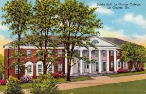 La Grange Georgia College Dobbs Hall Antique Postcard K45747
