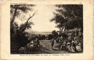 CPA Sejour de la Princesse de Conti au Chateau d'EU (347783)