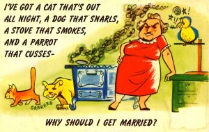 Humor - Why get married?