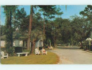 Unused 1950's HIL-TOP MOTEL Gainesville Florida FL u2758@