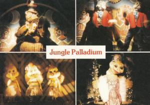 The Jungle Palladium Drayton Manor Zoo Staffordshire Waxworks 1980s Postcard