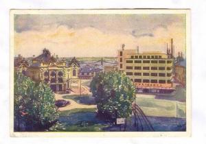 MOR. OSTRAVA. Zemske divadlo , Czech Republic , PU-1946