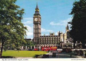 England London Big Ben & Parliament Square