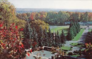 Panoramic View, Notre-dame, LACHUTE, Quebec, Canada, 40-60´s