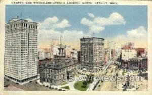 Campus and Woodward Avenue Detroit MI 1924