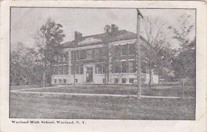 Wayland High School, Wayland, New York, PU-1908