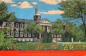 Grand Rapids Michigan~Calvin College~Administration Building~1940s