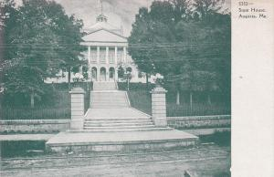 Exterior,  State House,  Augusta,  Maine,  00-10s