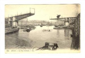 Boats, Le Pont Nationale, Brest (Finistère), France, 1900-1910s