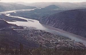 Central point of the fabulous Klondike gold rush, DAWSON CITY, Yukon , 1964