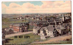 Union Station & Maine Central Offoces, Portland ME
