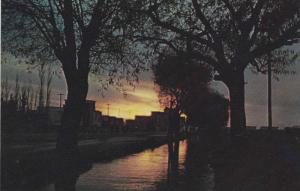 Sunset by Karaj Stream , TEHRAN , Iran , 40-60s