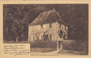 Germany Weimar Goethe's Gartenhaus