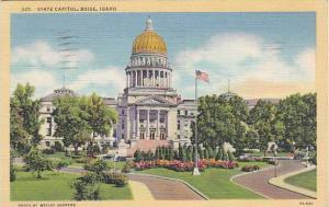Exterior, State Capitol, Boise, Idaho,  PU-1943