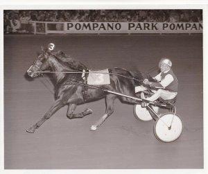 POMPANO PARK, Harness Horse Race, MATASON winner