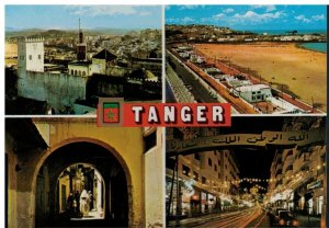 Postcard - Tanger Divers Aspects Morocco Multiview Tangier