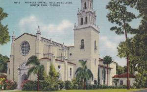 Florida Winter Park Knowles Chapel Rollins College