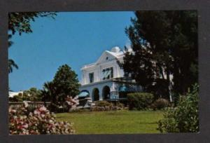 Rosedon Hotel & Gardens HAMILTON BERMUDA Postcard PC
