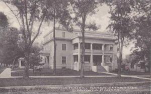 Kansas Baldwin Woods House Baker University Albertype