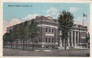 ROCKFORD , Illinois, 00-10s ; Masonic Temple