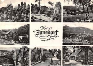 Kurort Jonsdorf, Gondelfahrt, Hennigsaeule, Kurverwaltung, Orgel, Nonnenfelsen