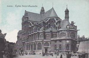 Eglise Saint-Eustache, Paris, France, 1900-1910s