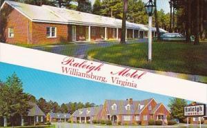 Raleigh Motel Williamsburg Virginia