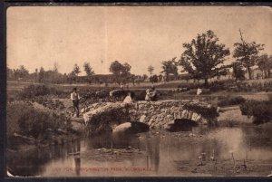Lily Pond,Washington Park,Milwaukee,WI BIN