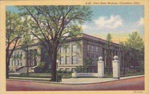 Ohio Colubus Ohio State Museum 1946 Albertype