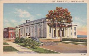 Wisconsin Racine Memorial Hall 1944